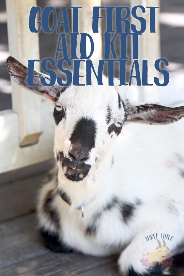 Goat First Aid Kit Essentials
