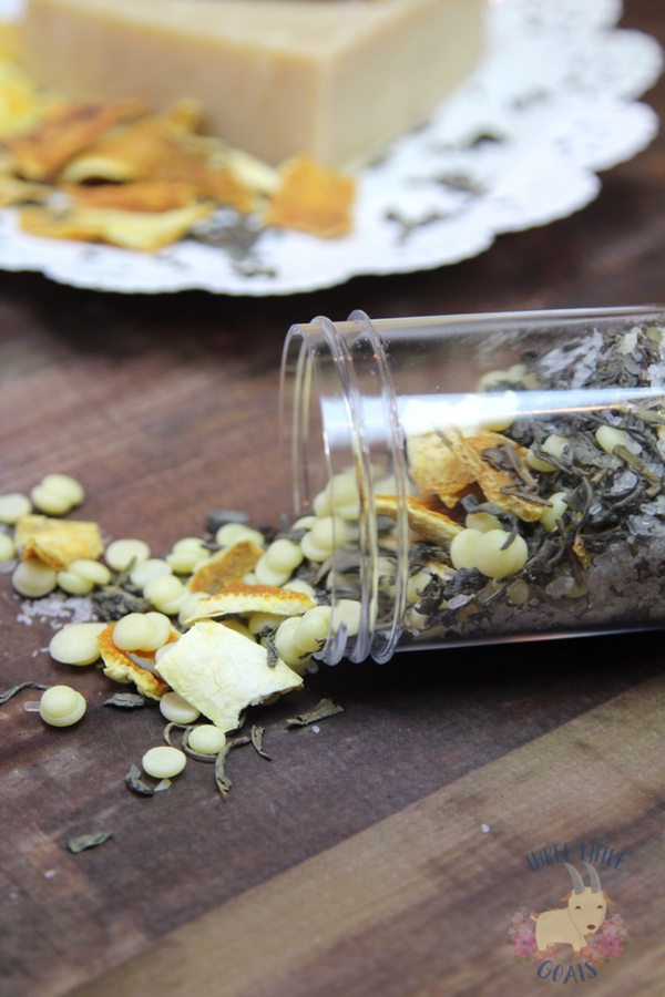 Green Tea and Citrus Bath Salts Recipe