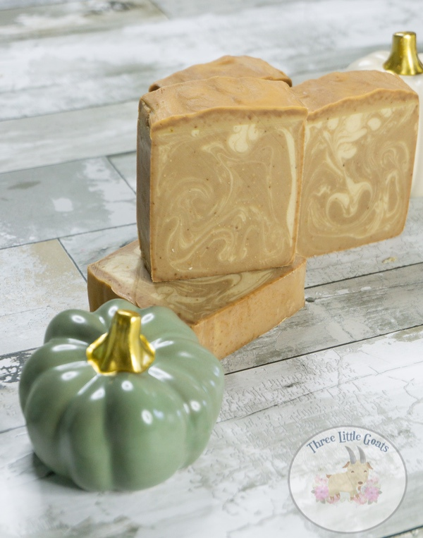 Pumpkin Spice Latte Soap Made with Real Pumpkin