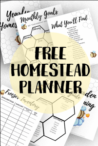 Free Homesteading Planner