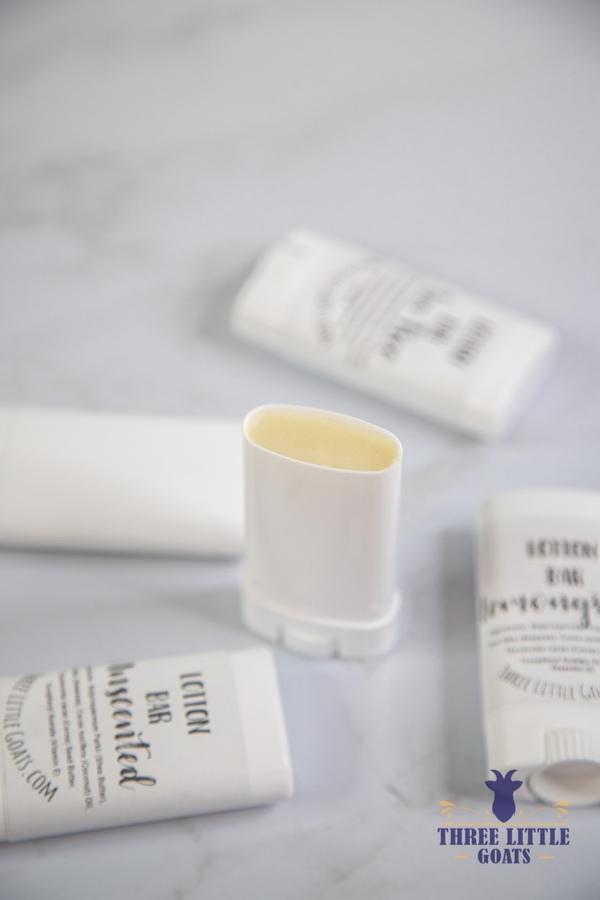 How to Make Lotion Sticks & Homemade Lip Balm